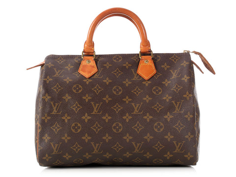 Louis Vuitton Vintage Monogram Speedy 30
