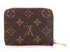 Louis Vuitton Monogram Evasion Zippy Coin Wallet