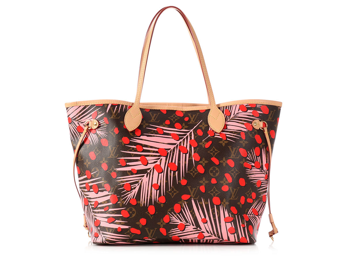 Louis Vuitton Monogram Limited Edition Palm Springs Jungle Neverfull MM
