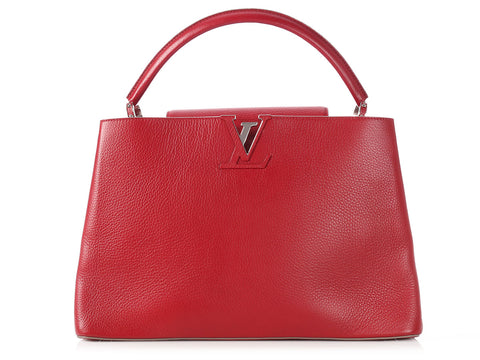 Louis Vuitton Cherry Capucines GM