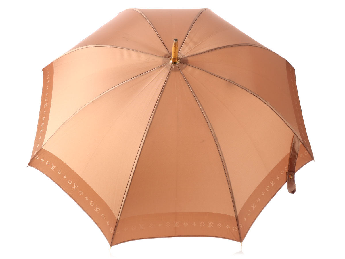 Louis Vuitton Brown Umbrella