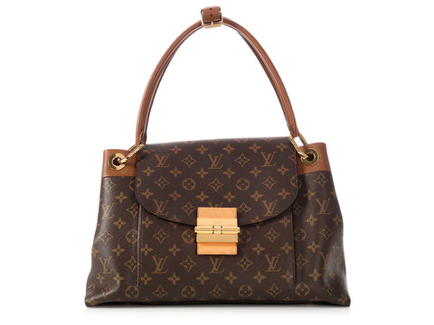 Louis Vuitton Monogram Havane Olympe