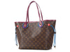 Louis Vuitton Magenta Monogram Totem Neverfull MM
