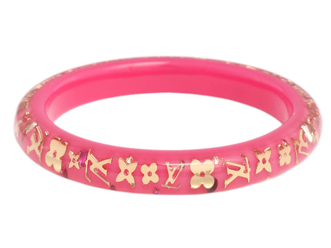 Louis Vuitton Rose Pop Inclusion Bracelet