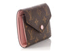 Louis Vuitton Monogram Victorine Rose Ballerine Wallet
