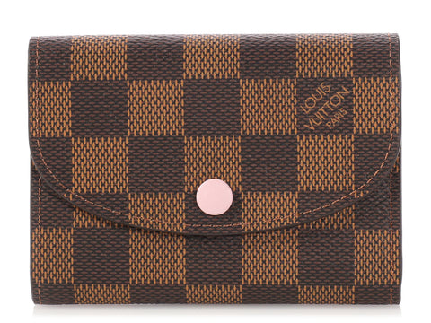 Louis Vuitton Damier Ebène Rosalie Coin Purse