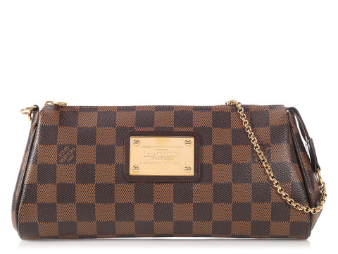 Louis Vuitton Damier Ebène Eva Clutch