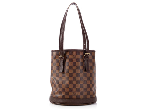 Louis Vuitton Damier Ebène Marais Bucket 23