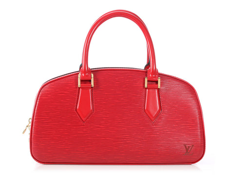 Louis Vuitton Red Epi Jasmine Bag