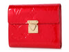 Louis Vuitton Red Monogram Vernis Koala Wallet