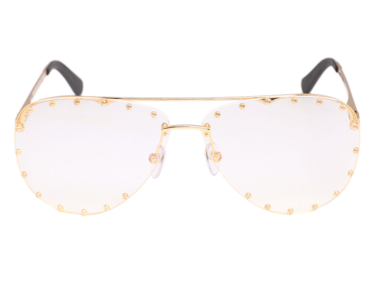 d1ee27f1ae Louis Vuitton Gold The Party Glasses