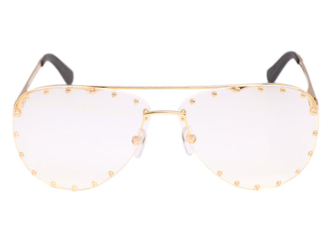 Louis Vuitton Gold The Party Glasses