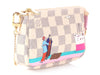 Louis Vuitton Damier Azur Transatlantic Cruises Print Mini Pochette