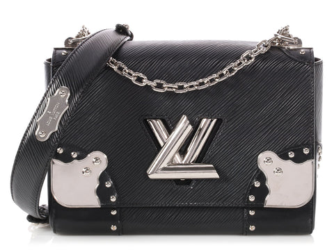 Louis Vuitton Black Epi Twist MM