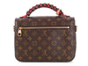 Louis Vuitton Monogram Braided Pochette Metis