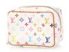 Louis Vuitton White Multicolor Monogram Wapity