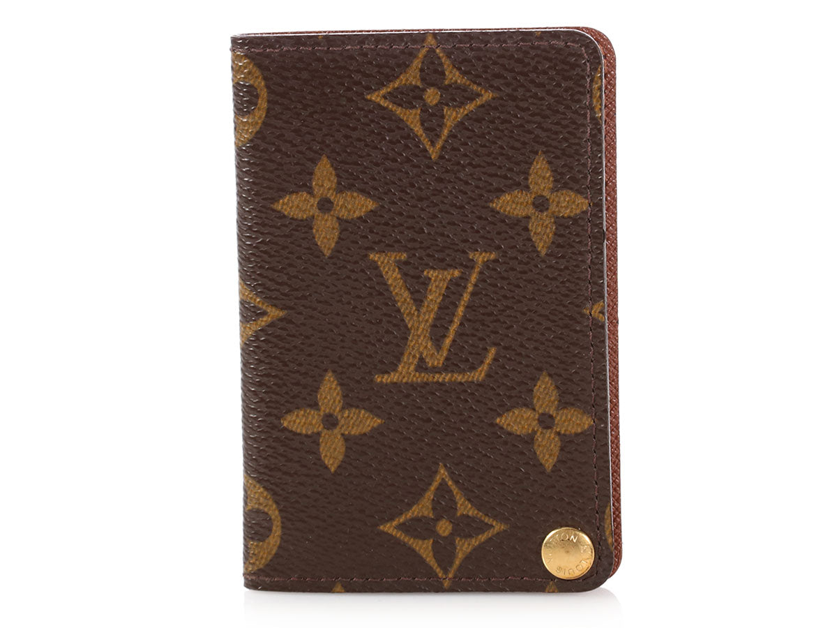 Louis Vuitton Monogram Flip Out Card Case