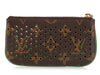Louis Vuitton Monogram Green Perforated Key Case