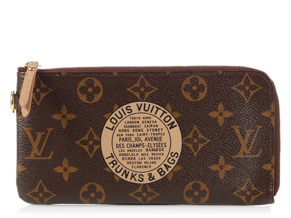 Louis Vuitton Monogram Complice Trunks and Bags Wallet