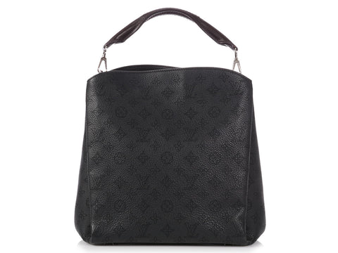 Louis Vuitton Noir Mahina Babylone PM