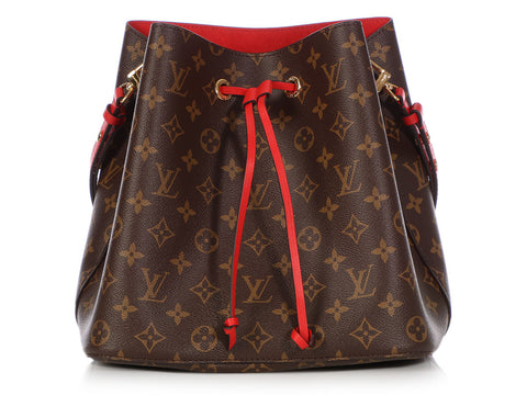 Louis Vuitton Monogram Red Néo Noé