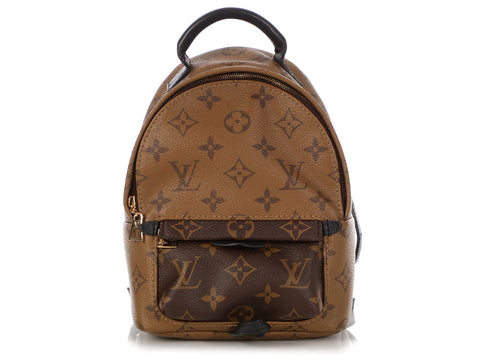 Louis Vuitton Mini Reverse Monogram Palm Springs Backpack