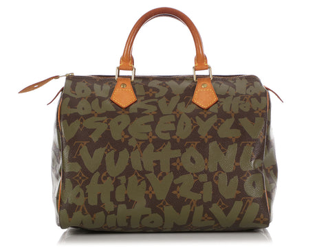 Louis Vuitton Monogram Graffiti Speedy 30