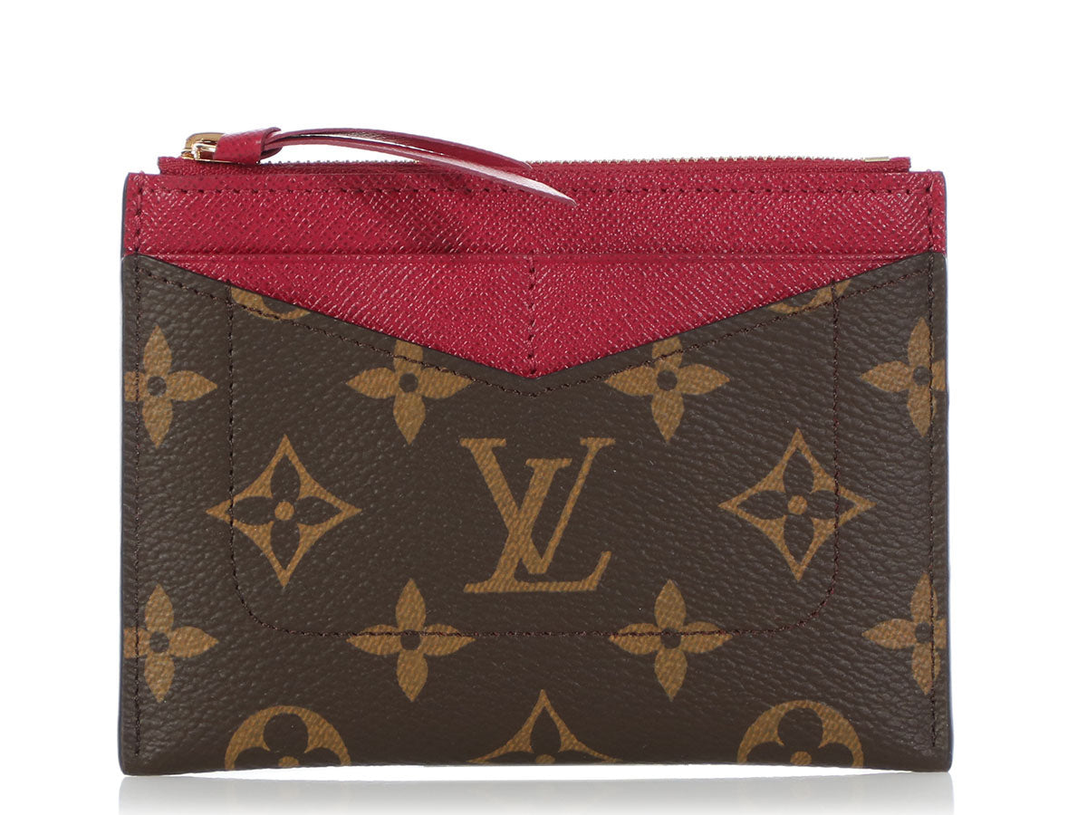 81f72c3c Louis Vuitton Monogram Zipped Card Holder