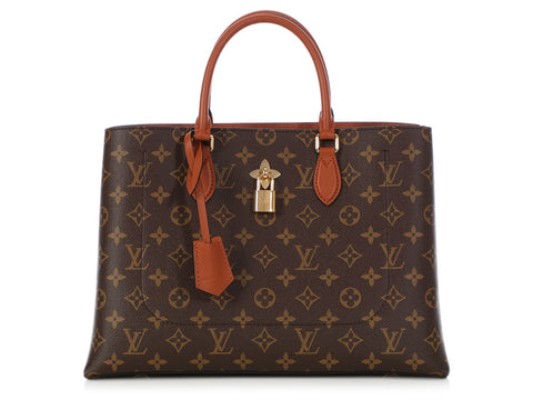 Louis Vuitton Monogram Caramel Flower Tote