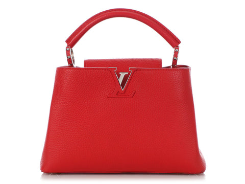 Louis Vuitton Rubis Taurillon Capucines BB