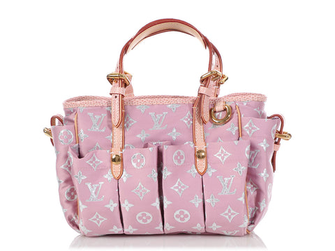 Louis Vuitton Pink Pastel Glitter Monogram Cabas GM