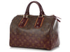 Louis Vuitton Monogram Bordeaux Mirage Speedy 30