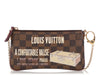 Louis Vuitton Limited Edition Damier Ebène Valise Milla Pochette