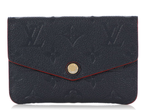 Louis Vuitton Marine Rouge Empreinte Key Pouch