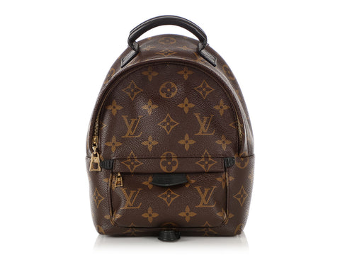 Louis Vuitton Mini Monogram Palm Springs Backpack