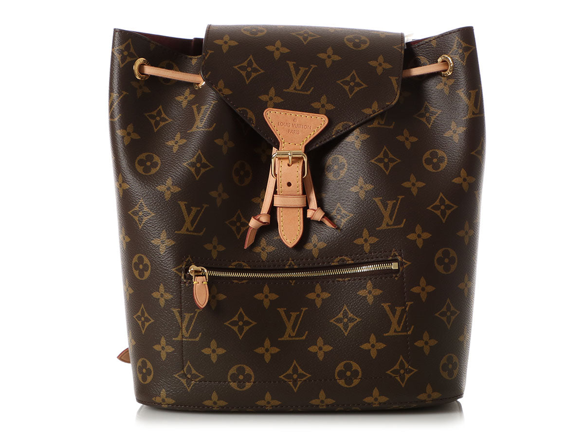 Louis Vuitton Monogram Montsouris NM Backpack MM