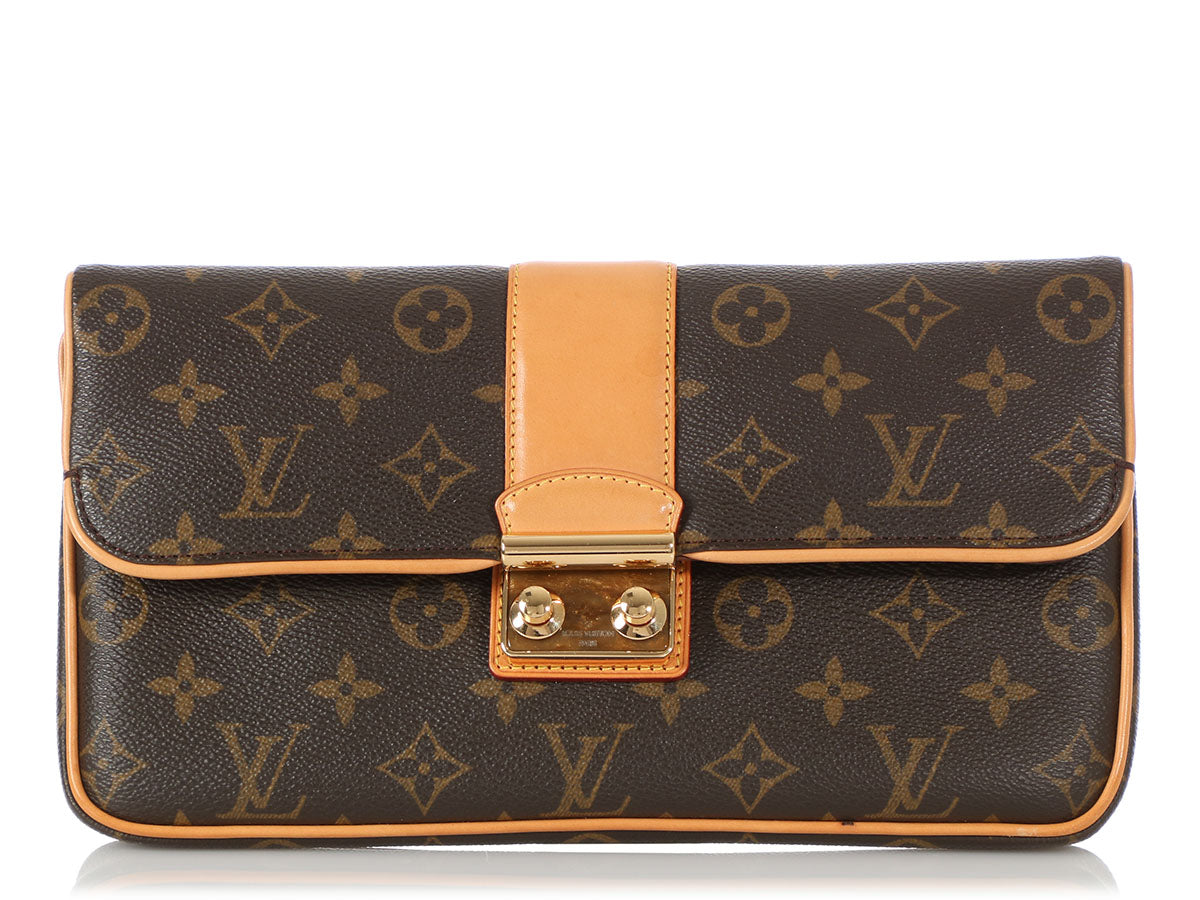 Louis Vuitton Monogram Sofia Coppola SC Slim Clutch