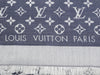 Louis Vuitton Denim Blue Monogram Shawl
