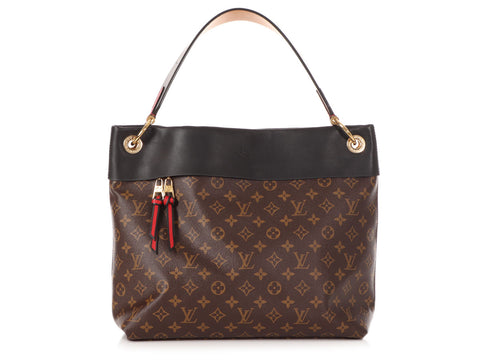 Louis Vuitton Black Tuileries Hobo