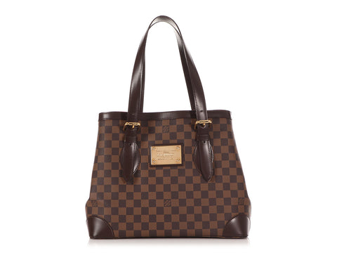 Louis Vuitton Damier Ebène Hampstead GM