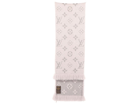 Louis Vuitton Gray Logomania Scarf