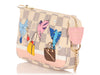 Louis Vuitton Mini Damier Azur Playing Birds Pochette Accessoires