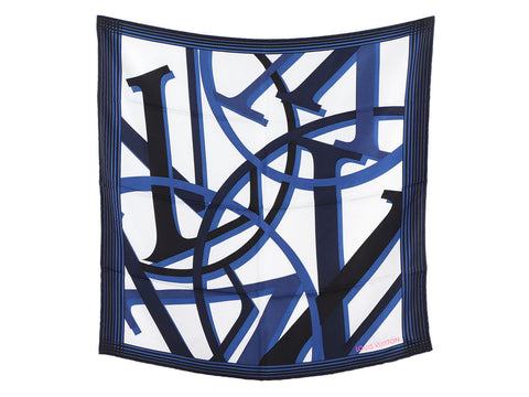 Louis Vuitton Initials Silk Scarf