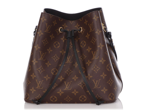 Louis Vuitton Monogram Noir NéoNoé