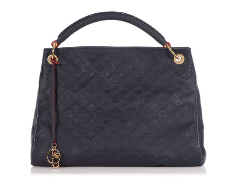 Louis Vuitton Marine Rouge Monogram Empreinte Artsy MM