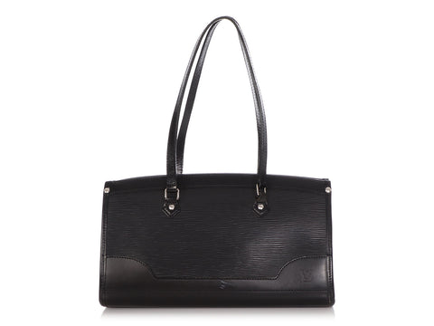 Louis Vuitton Black Epi Madeleine PM
