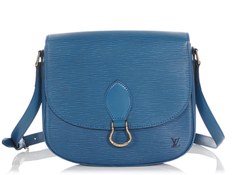 Louis Vuitton Blue Epi Saint Cloud GM