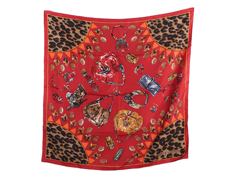 Louis Vuitton Kalahari Silk Scarf