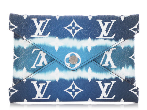 Louis Vuitton Medium Navy Kirigami Escale Pouch