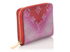 Louis Vuitton Metallic Pink Monogram Vernis Valentine's Day Zippy Coin Purse